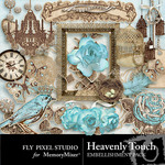 Heavenly Touch Embellishment Pack-$3.49 (Fly Pixel Studio)