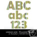 Essential Spring Alphabet Pack-$1.49 (Lindsay Jane)