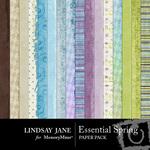 Essential Spring Paper Pack-$3.99 (Lindsay Jane)