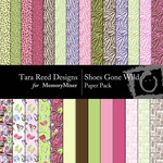 Shoes Gone Wild Paper Pack-$3.99 (Tara Reed Designs)