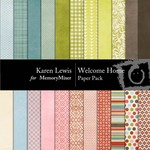 Welcome Home Paper Pack-$3.99 (Karen Lewis)