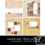 Pearls and Lace Quick Page QuickMix-$3.49 (Lindsay Jane)
