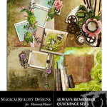 Always Remember Quick Page QuickMix Set 2-$3.99 (MagicalReality Designs)
