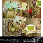 Always Remember Quick Page QuickMix Set 1-$2.00 (MagicalReality Designs)