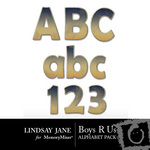 Boys R Us Alphabet Pack-$1.49 (Lindsay Jane)