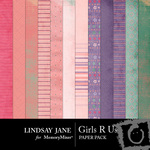 Girls R Us Paper Pack-$3.99 (Lindsay Jane)