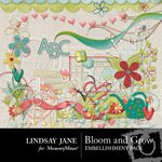Bloom and Grow Embellishment Pack-$3.99 (Lindsay Jane)