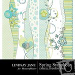 Spring symphony borders pack small