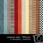 Wheels Paper Pack-$3.99 (Lindsay Jane)