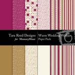 Warm Wedding Wishes Paper Pack-$3.99 (Tara Reed Designs)