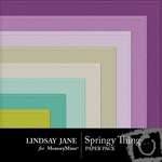 Springy Thing Embossed Paper Pack-$2.99 (Lindsay Jane)