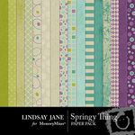 Springy Thing Paper Pack-$3.99 (Lindsay Jane)