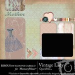Vintage Lady QuickMix-$3.49 (Bisous By Suzanne Carillo)