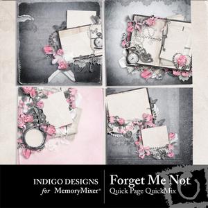 Forget me not qp medium