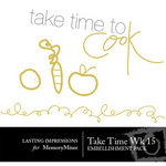 Take Time Wk 15 Embellishment Pack-$0.00 (Lasting Impressions)