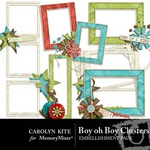 Boy oh Boy Cluster Pack-$2.49 (Carolyn Kite)
