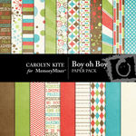 Boy oh Boy Paper Pack-$3.99 (Carolyn Kite)