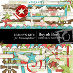 Boy oh Boy Embellishment Pack-$2.99 (Carolyn Kite)