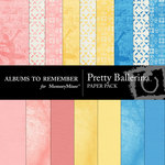 Pretty Ballerina Paper Pack-$3.99 (Albums to Remember)