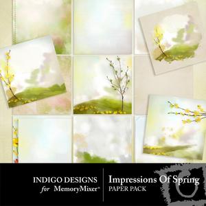 Impressions of spring pp medium