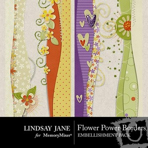 Flower power borders pack medium