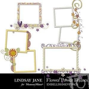 Flower power frames medium