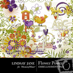 Flower Power Embellishment Pack-$3.99 (Lindsay Jane)