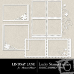 Lucky stamp frames 1 small