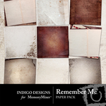 Remember Me Paper Pack-$3.99 (Indigo Designs)