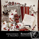 Remember Me Embellishment Pack-$3.49 (Indigo Designs)