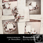 Remember Me Quick Page QuickMix-$3.99 (Indigo Designs)