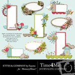 Time 4 Me Journal Clusters-$3.99 (Ettes and Company by Fayette)