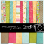 Time 4 Me Paper Pack-$3.99 (Ettes and Company by Fayette)