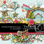 Time 4 Me Embellishment Pack-$3.99 (Ettes and Company by Fayette)