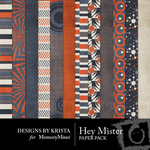 Hey Mister Paper Pack-$3.99 (Designs by Krista)