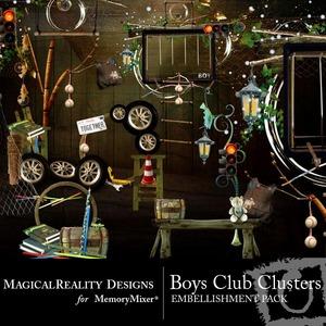 Boys club clusters medium