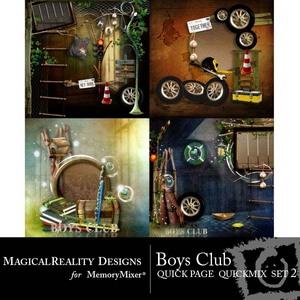 Boys club qp set 2 medium