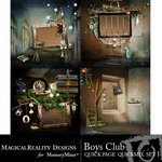 Boys Club Quick Page QuickMix Set 1-$3.49 (MagicalReality Designs)