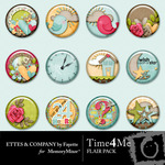 Time 4 Me Flair Pack-$1.99 (Ettes and Company by Fayette)