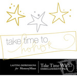 Take Time Wk 17 Embellishment Pack-$0.00 (Lasting Impressions)