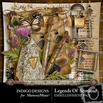 Legend of Scotland Embellishment Pack-$2.99 (Indigo Designs)