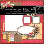 Time 4 Me QuickMix-$5.99 (Ettes and Company by Fayette)