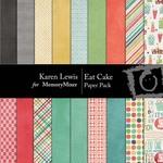 Eat Cake Paper Pack-$3.99 (Karen Lewis)