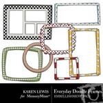 Everyday Doodle Frame Pack-$1.99 (Karen Lewis)