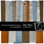 My Man Paper Pack-$3.99 (Fayette Designs)