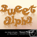 Sweet Pleasure Alphabet Pack-$0.99 (Fly Pixel Studio)
