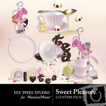 Sweet Pleasure Cluster Pack-$1.99 (Fly Pixel Studio)