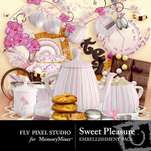 Sweet pleasure emb medium