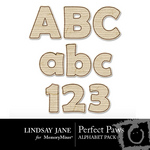 Perfect Paws Alphabet Pack-$1.75 (Lindsay Jane)