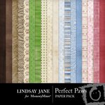 Perfect Paws Paper Pack-$2.39 (Lindsay Jane)